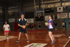 Kis team at Basketball team building day 2013
