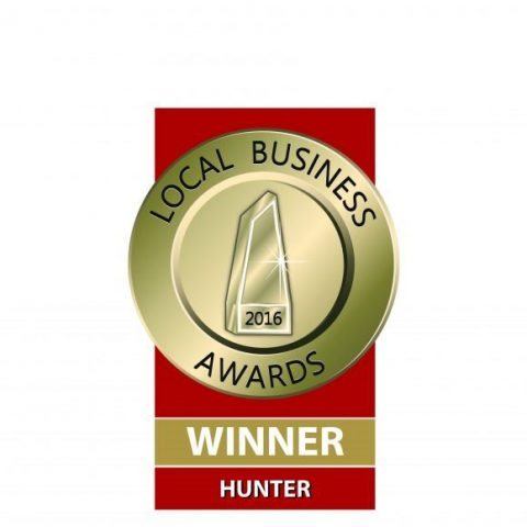 Kis Marketing Local Business 2016 Winner Hunter