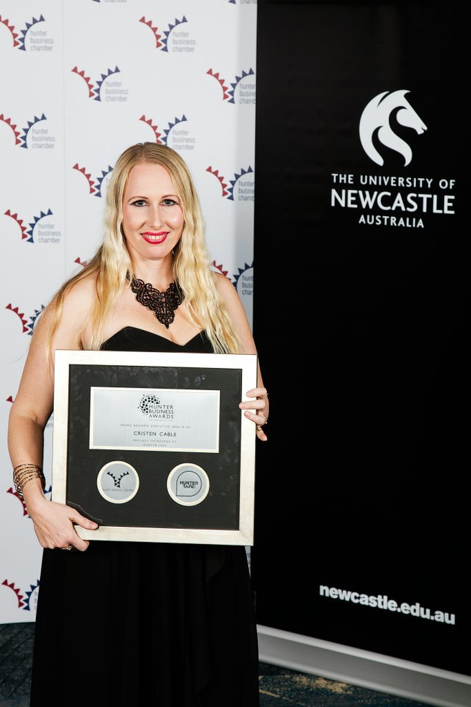 The Young Business Executive of the Year 2016 – Cristen Cable - Hunter Business Awards