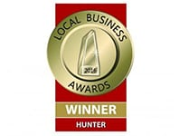 Local Business Awards Winner Hunter