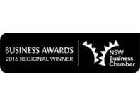 Business Awards Regional Winner 2016