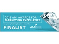 2018 AMI Award for Marketing Excellence Finalist